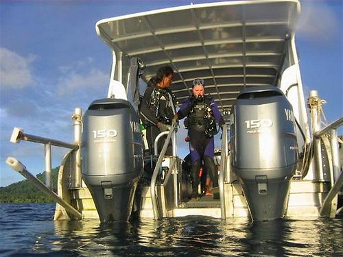 SS Thorfinn dive tender